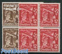 Hitlerputsch 2v, Blocks of 4 [+]