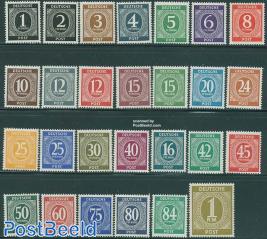 Allied occupation definitives 27v