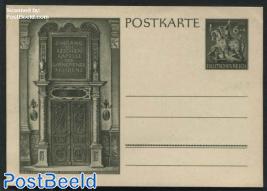 Postcard 6+4pf, goldsmith art