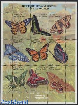 Butterflies 9v m/s, Psaphis eusemoides