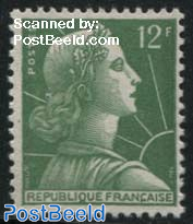 12Fr, Stamp out of set