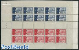 Legion Tricolore sheet