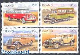 Postal cars 4v