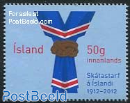 100 Years scouting in Iceland 1v