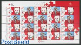 150 Years Red Cross sheet
