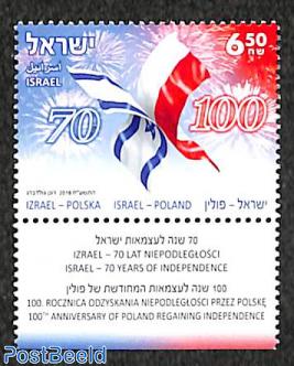 Joint issue Poland 1v