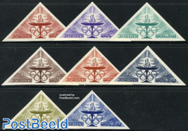 Olympic games 8v imperforated
