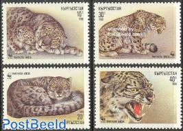 WWF, snow leopard 4v