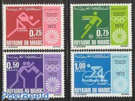 Olympic games Munich 4v