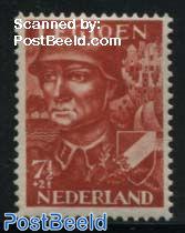 7.5+2.5c Legioen, Stamp out of set