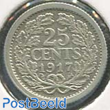 25 cents 1917