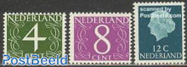 Fluorescend stamps 3v