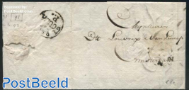 Letter from Gouda to Amsterdam