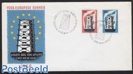 Europa CEPT FDC without address