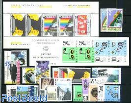Yearset 1986 (20v+1s/s+1bklt)