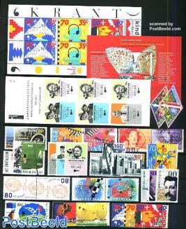 Yearset 1993 (34v+2s/s+1bklt)