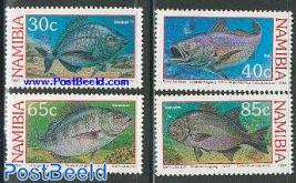 Coastal fish 4v