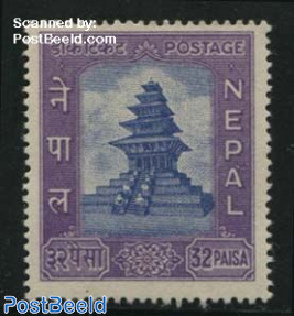 32p, Stamp out of set