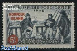 Post office jubilee 1v
