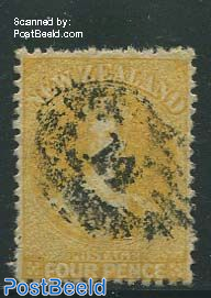 4p, Yellow, WM1, used