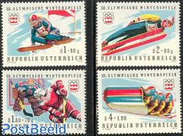 Olympic Winter Games Innsbruck 4v