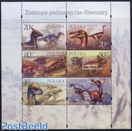 Prehistoric animals s/s