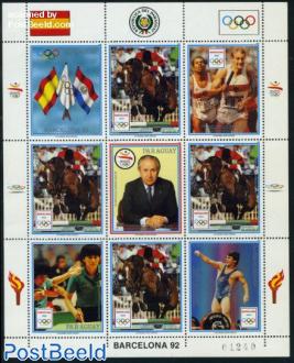 Olympic games minisheet