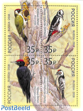 Woodpeckers 4v m/s