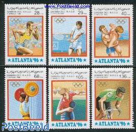 Atlanta Olympics 6v