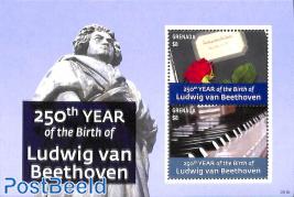 Ludwig von Beethoven s/s