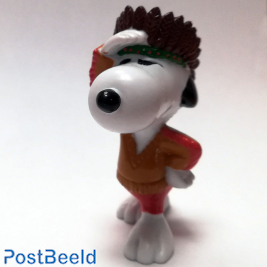 Snoopy Native American