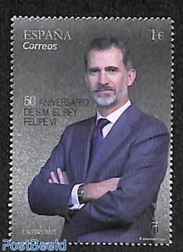 King Felipe VI 50th birthday 1v