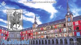 400 years Plaza Major Madrid s/s