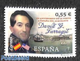 David G Farragut 1v