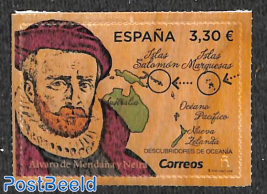 Alvaro de Mendana 1v (wood)