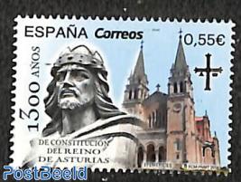 1300 years Asturia constitution 1v