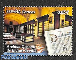 Archivo General de Indias, Sevilla 1v