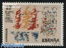 Stamp expo 92 1v