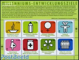 Millennium development goals 8v m/s