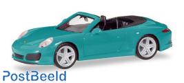 Porsche 911 Carrera Cabrio - Blue