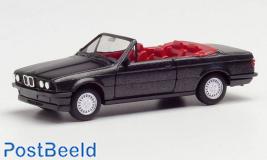 BMW 3 Cabrio E30 - Black Metallic