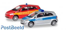 "Mercedes-Benz B-Klasse ""Police / fire department"""