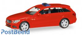Herpa MiniKit: Mercedes-Benz C-Class T-Modell, red