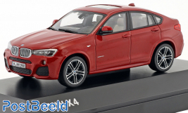 BMW X4, Red