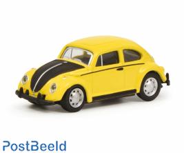 VW Beetle yellow/black 1:87