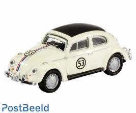 VW Beetle cabrio, white 1:87