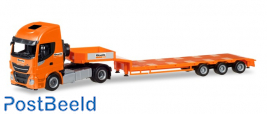 Iveco Stralis XP low boy semitrailer ?Boels Rental? (NL)
