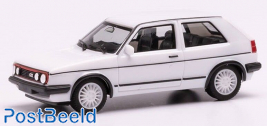 VW Golf II GTI white