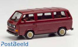 VW T3 van red