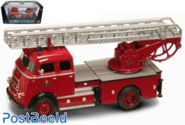 Daf A1600 ladder fire truck Amsterdam 1962